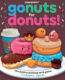 Gamewright - Go Nuts for Donuts! Jeu