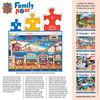 Family Hour Ocean Park Large 400 Piece Ezgrip Jigsaw Puzzle By Art Poulin