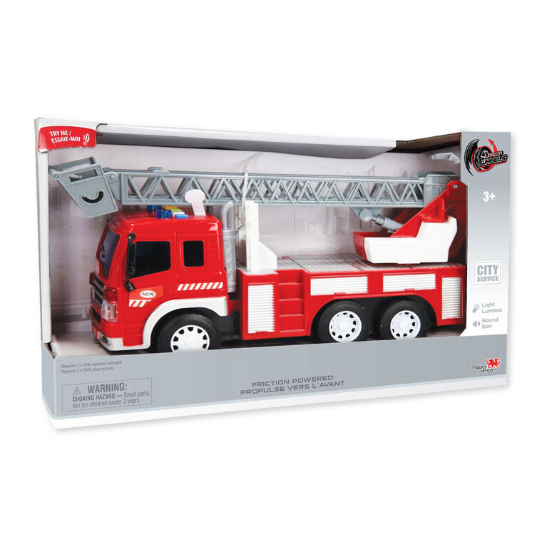 City Service: Camion De Pompier: Camion échelle