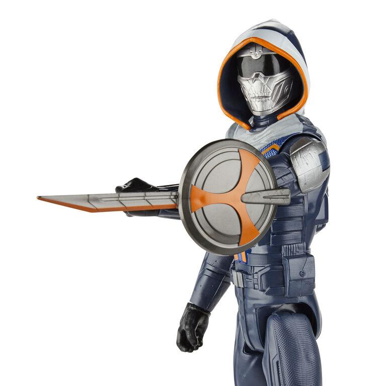 Marvel Black Widow Titan Hero Series Blast Gear - Figurine de Taskmaster