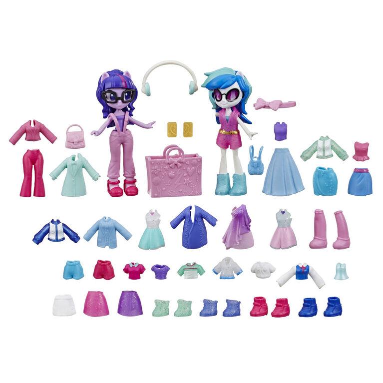 My Little Pony Equestria Girls, Brigade de la mode, Twilight Sparkle et DJ Pon-3 - R Exclusif