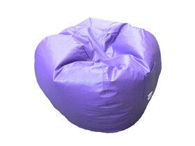 Boscoman - Fauteuil poire rond format jeunesse - violet