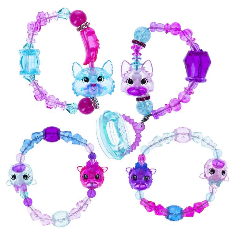 Twisty Petz, Série 4, Coffret de bracelets à collectionner Famille Yorkshire