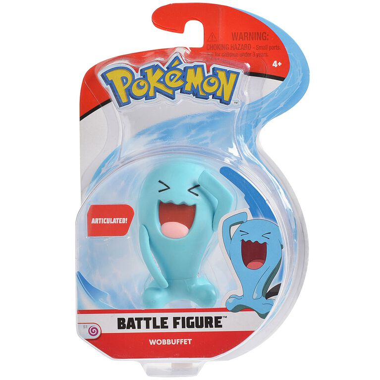 Pokémon - Battle Figure Asst - Wobbuffet