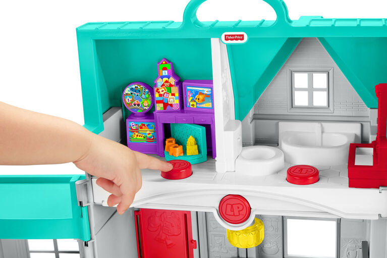 Fisher-Price Little People Big Helpers Home - Bilingual Edition  038177