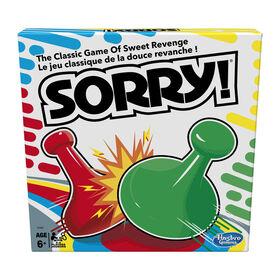 Hasbro Gaming - Jeu Sorry! - les motifs peuvent varier