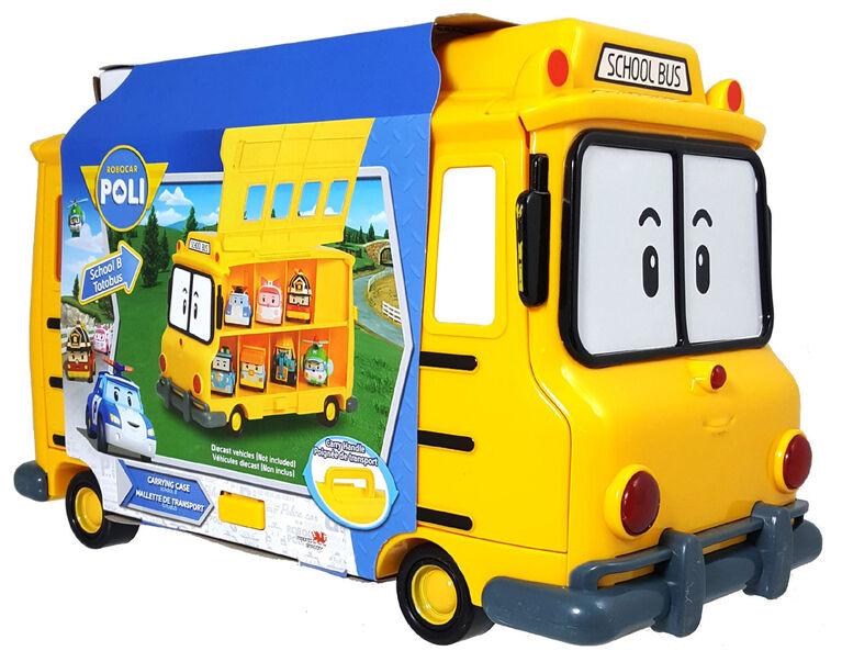 Robocar Poli - Totobus Mallette de transport