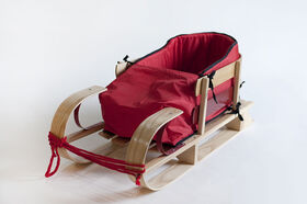 JAB - Traditional baby sled with cushion