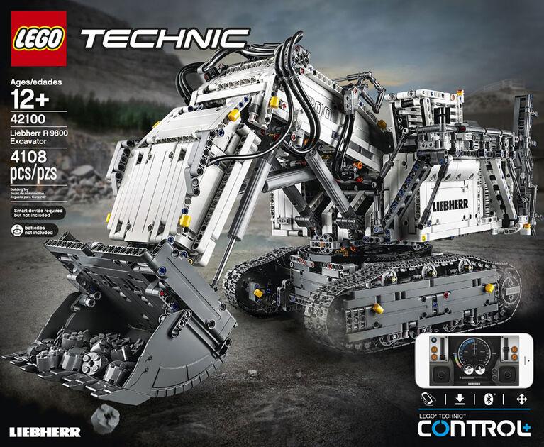 LEGO Technic La pelleteuse Liebherr R 9800 42100