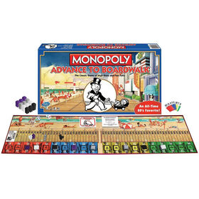 Winning Moves - Monopoly: Advance to Boardwalk Game