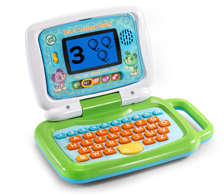 LeapFrog 2-in-1 LeapTop Touch Green - English Edition