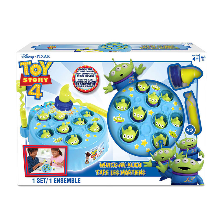 Toy Story 4 Whack An Alien Game