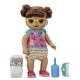 Baby Alive Step 'n Giggle Baby Brown Hair Doll