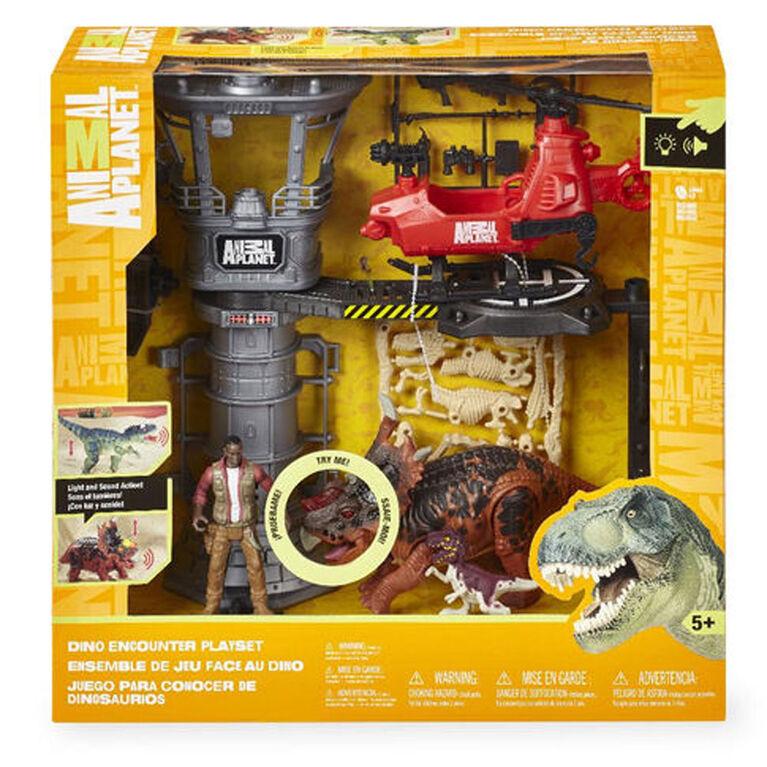 Animal Planet Styracosaurus Dino Encounter Playset