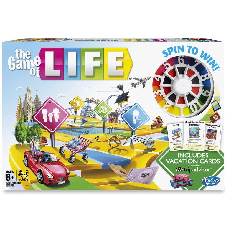 Hasbro Gaming - The Game of Life: TripAdvisor Edition