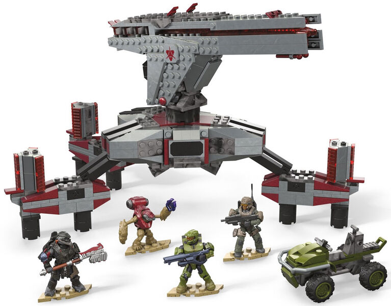 Mega Construx Halo Defense Point Showdown
