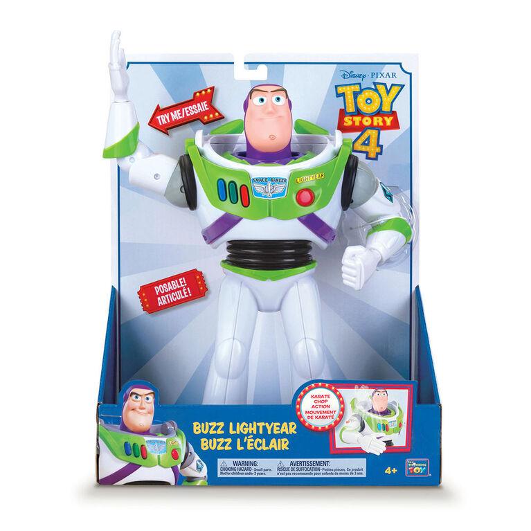 Toy Story 4 Buzz L'Éclair Avec Mouvement De Karate.