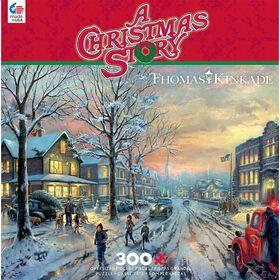Ceaco Thomas Kinkade - A Christmas Story Jigsaw Puzzle (300 Piece)