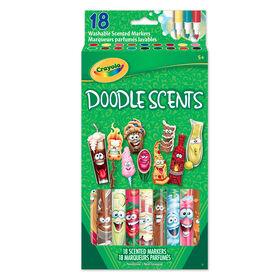 Crayola - 18 ct doodle scents marqueurs parfumés