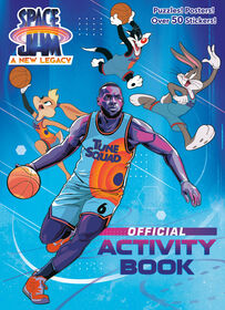 Space Jam: A New Legacy Activity Book - Édition anglaise