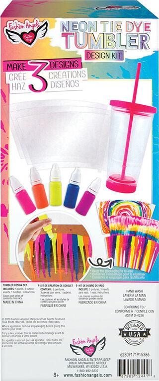 Neon Tie Dye Tumbler Kit