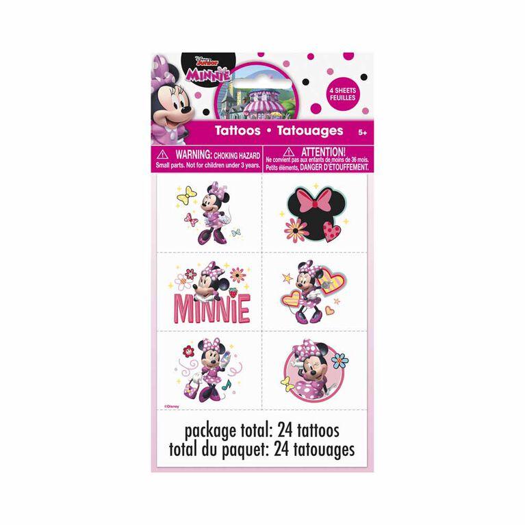Minnie  Tattoos, 24 pieces