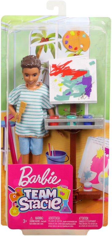 Barbie Team Stacie Friend Art Class Playset - R Exclusive
