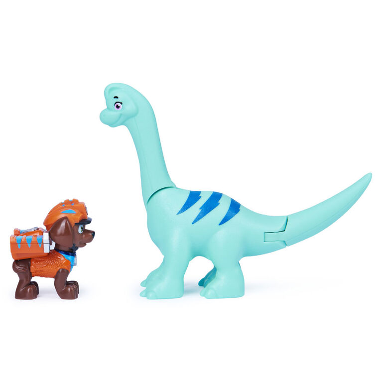 PAW Patrol, Dino Rescue Zuma and Dinosaur Action Figure Set