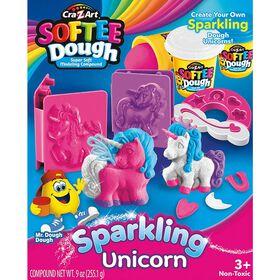 Cra-Z-Art - SofteeDough - Sparkling Unicorns