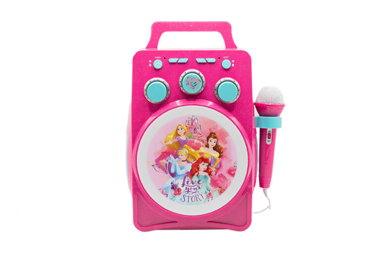 Karaoké Lumière Magique Bluetooth Princesse Disney