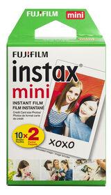 Film instan-tané Instax Mini  de Fujifilm- Paquet Duo (20 POS)