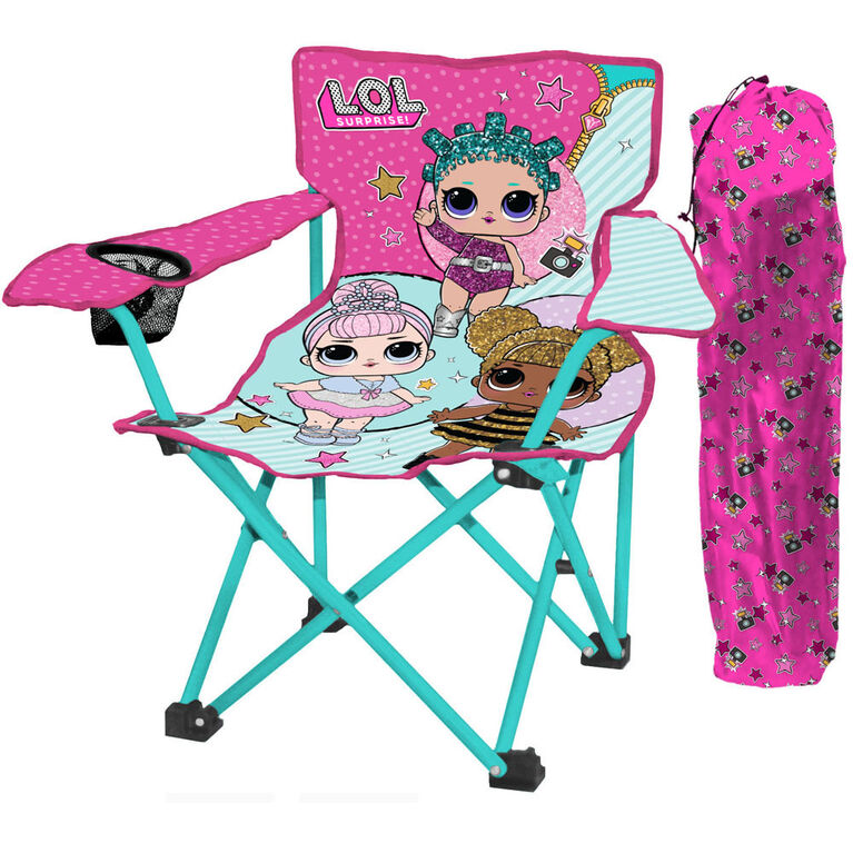Outstanding L O L Surprise Kids Camp Chair Pdpeps Interior Chair Design Pdpepsorg