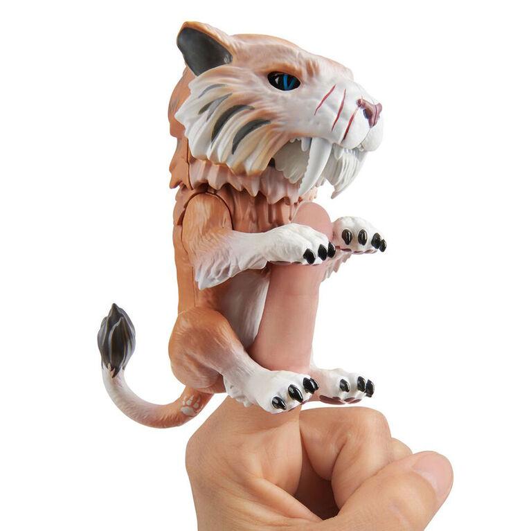 Untamed Fingerlings - Tigre à dents de sabre - Bonesaw (Bronze).