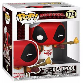 Figurine en vinyle Backyard Griller Deadpool par Funko POP! Marvel Zombies
