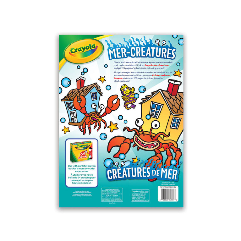 Crayola Colouring Book, 176 Pages