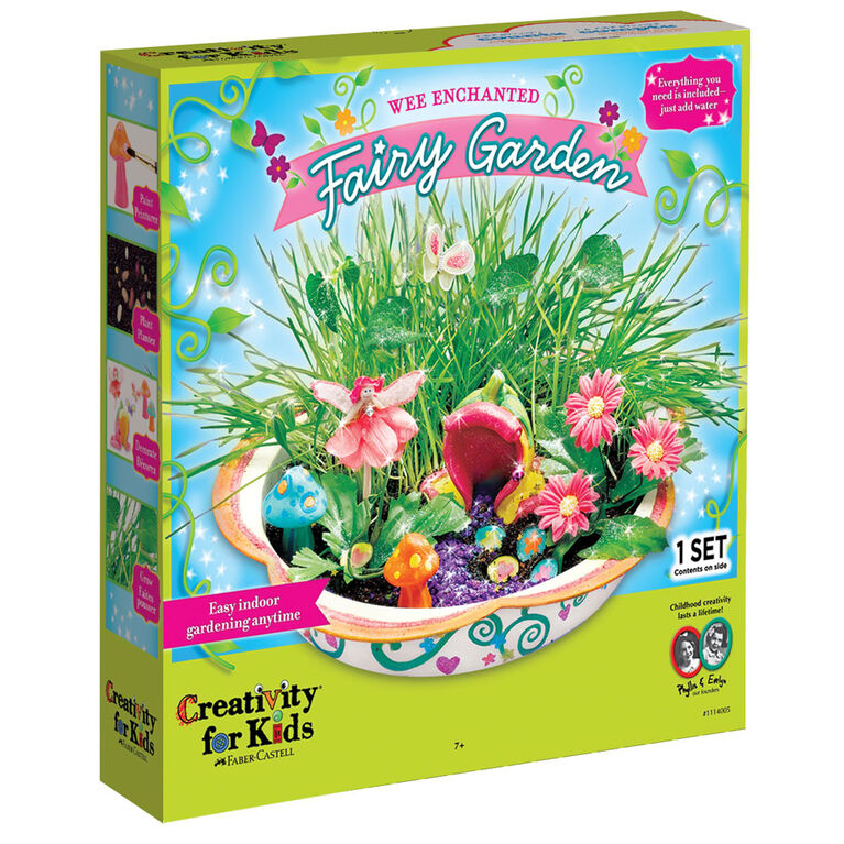 Wee Enchanted Fairy Garden - English Edition
