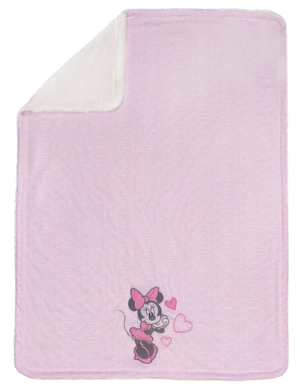 Disney Baby Jersey Knit Baby Blanket- Minnie Mouse