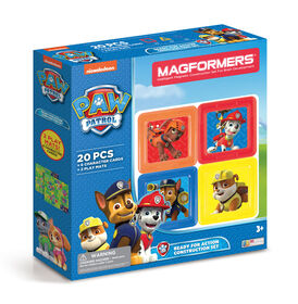 Magformers Paw Patrol Ready-for-Action Construction Set 20 Piece