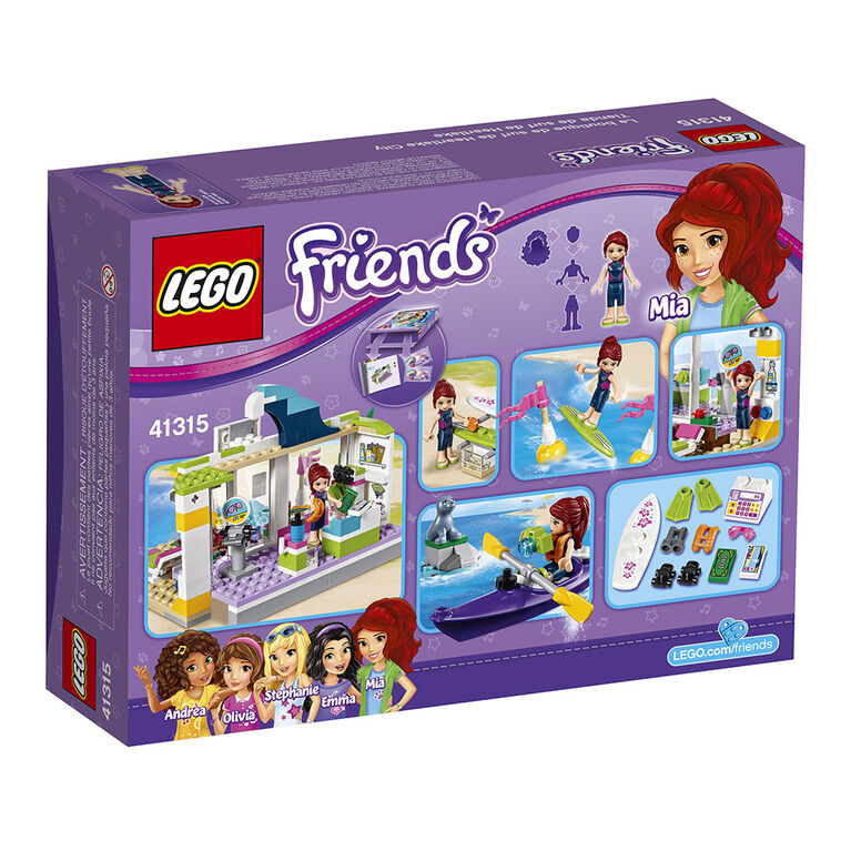 LEGO Friends Heartlake Surf Shop 41315