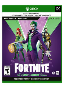Xbox Series X Games - Fortnite The Last Laugh Bundle