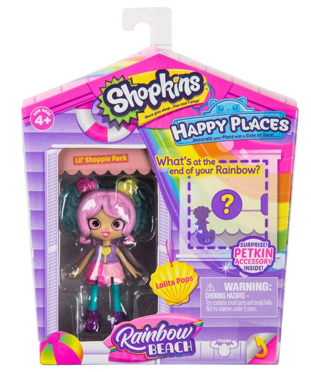 Shopkins Happy Places Lolita Pops Lil' Shoppie Pack