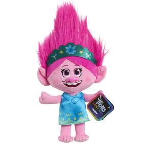 Petite Peluche de 20 cm (8 pouces) de DreamWorks Trolls World Tour - Poppy