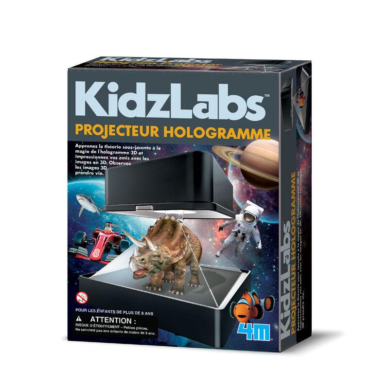 4M Kidzlabs Projecteur Hologramme - Édition française