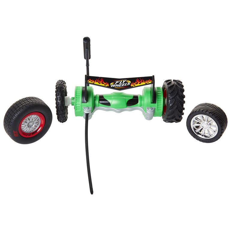 Fly Wheels Twin Turbo Launcher (Green)