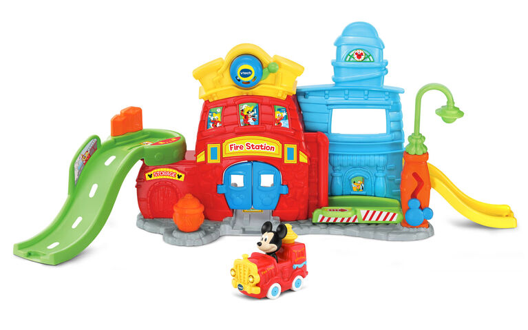 Vtech Go! Go! Smart Wheels - Disney Mickey Silly Slides Fire Station - English Edition