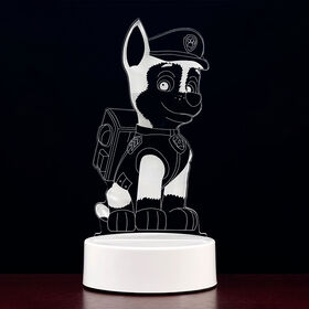 PAW Patrol 3D LED Night Light - Chase