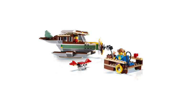 LEGO Creator Riverside Houseboat 31093