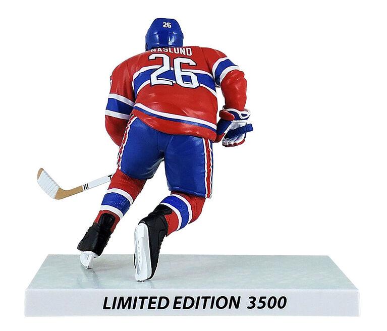 Mats Naslund des Canadiens de Montréal LNH figurine légendaire 6'.