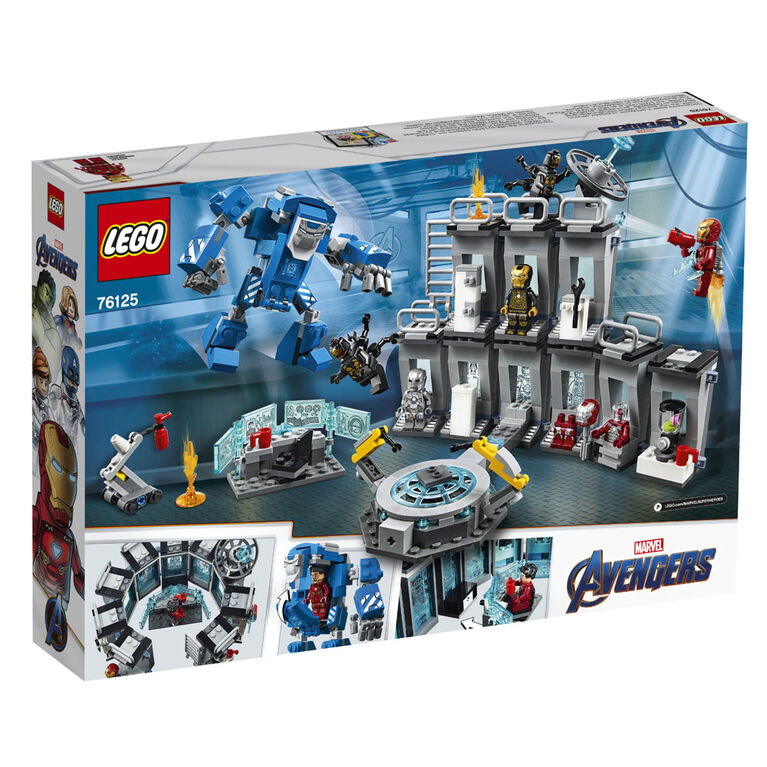 LEGO Super Heroes Marvel Iron Man Hall of Armor 76125