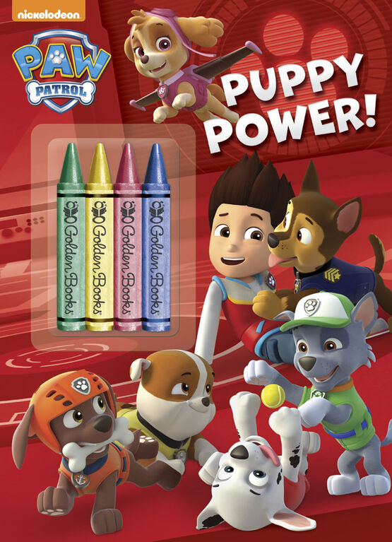 Golden Books - Puppy Power! (Paw Patrol) - English Edition